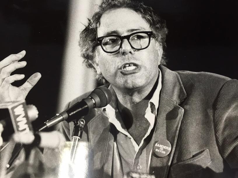 Bernie Sanders campaigns for Burlington mayor in 1981. Vermont Press Bureau