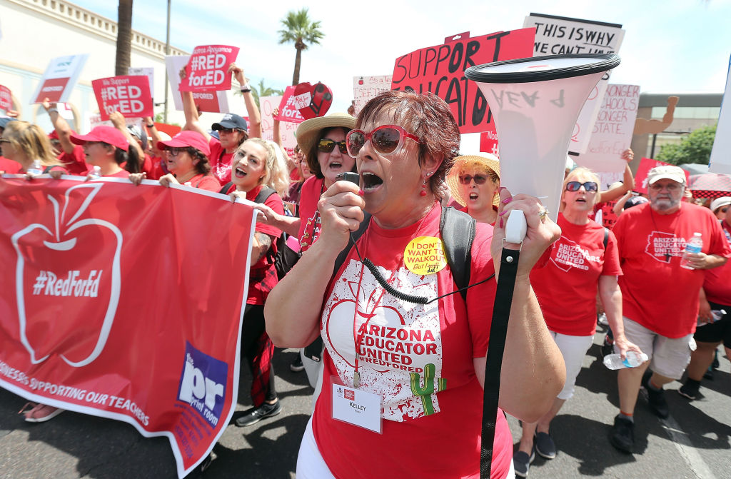 The teachers strike wave is the most important development in working-class politics in years. Combined with the rise of socialism, chances for a major transformation leftward in American politics are better than ever.