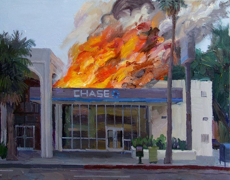"""Chase Burning"" by Alex Schaefer"
