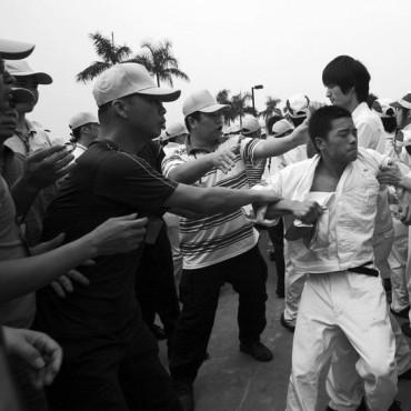 China striking Honda workers