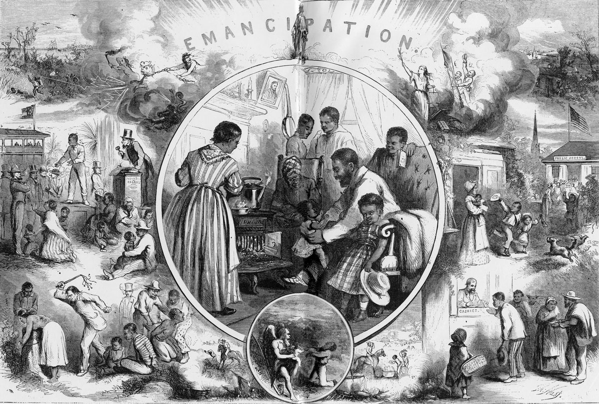 the issues of white and black people in america in the 19th century For much of their history, americans dealt with racial differences by drawing a strict line between white people and black people but daniel j sharfstein, an associate professor of law at.