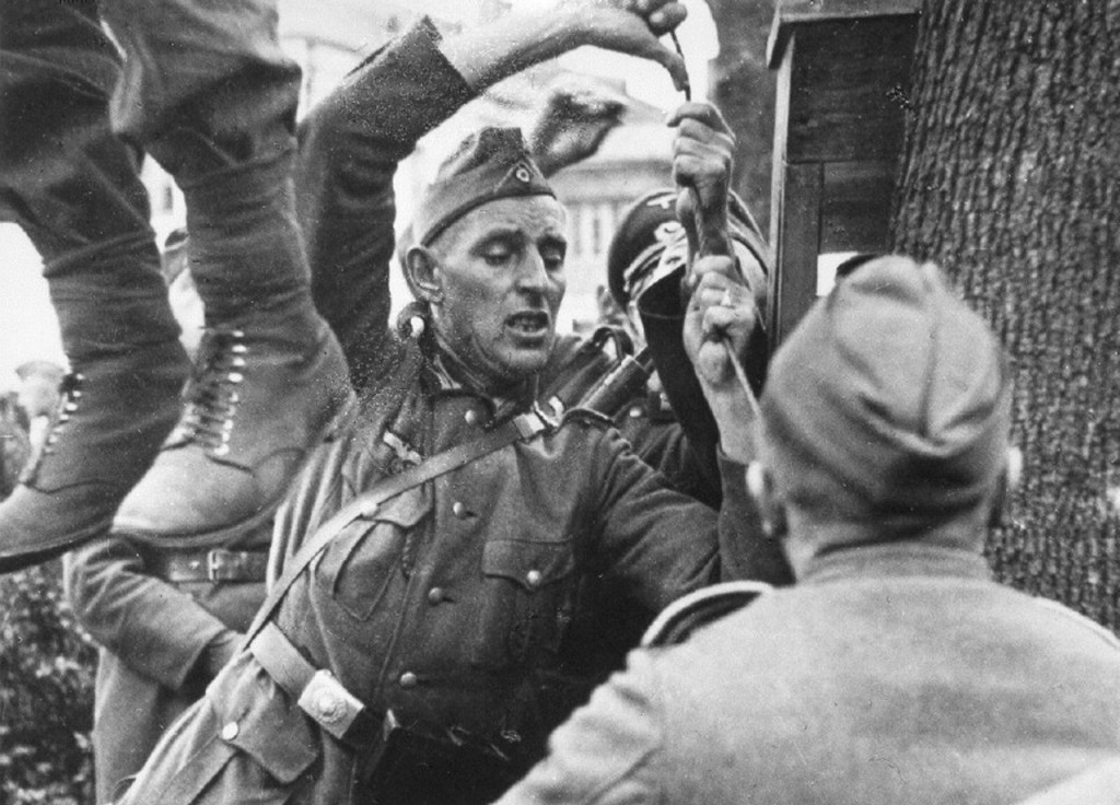 Execution of Soviet Partisan
