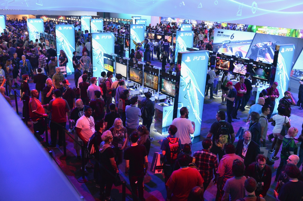 Image result for video games convention