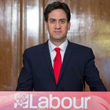 Labour Party leader Ed Miliband makes his resignation speech last month in London. Matt Cardy / Getty Images
