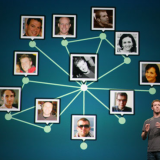 Mark Zuckerberg delivering a speech at Facebook's F8 developer conference in 2011. Kimihiro Hoshino  / AFP