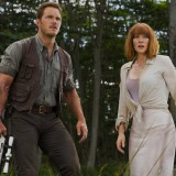 Chris Pratt and Bryce Dallas Howard in Jurassic World. Chuck Zlotnick / Universal Studios