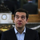 Greek Prime Minister Alexis Tsipras during a swearing-in ceremony this month. Alkis Konstantinidis / Reuters