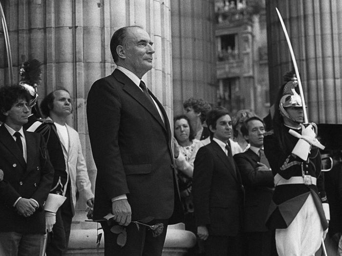 On May 21, 1981, François Mitterrand officially took office.