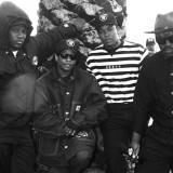 N.W.A. with Fab 5 Freddy. Jeff Kravitz / FilmMagic
