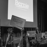 Bernie Sanders at a July campaign rally in Iowa. Phil Roeder / Flickr