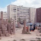 The playground at St. Louis's Pruitt-Igoe housing complex. Michael Allen / Flickr