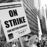 A mass march during the 2012 Chicago Teachers Union strike. Shutter Stutter / Flickr