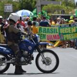 A rally advocating impeachment of Brazilian President Dilma Rousseff on August 16, 2015. Blog do Geraldo José