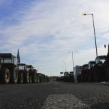A farmer blockade in central Greece last month. Margaritis Xenofon / Flickr