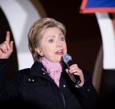 Hillary Clinton in 2008. Jeremy Soper / Flickr