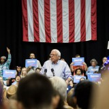 Bernie Sanders speaks in New Orleans on July 26, 2015. Nick Solari / Flickr