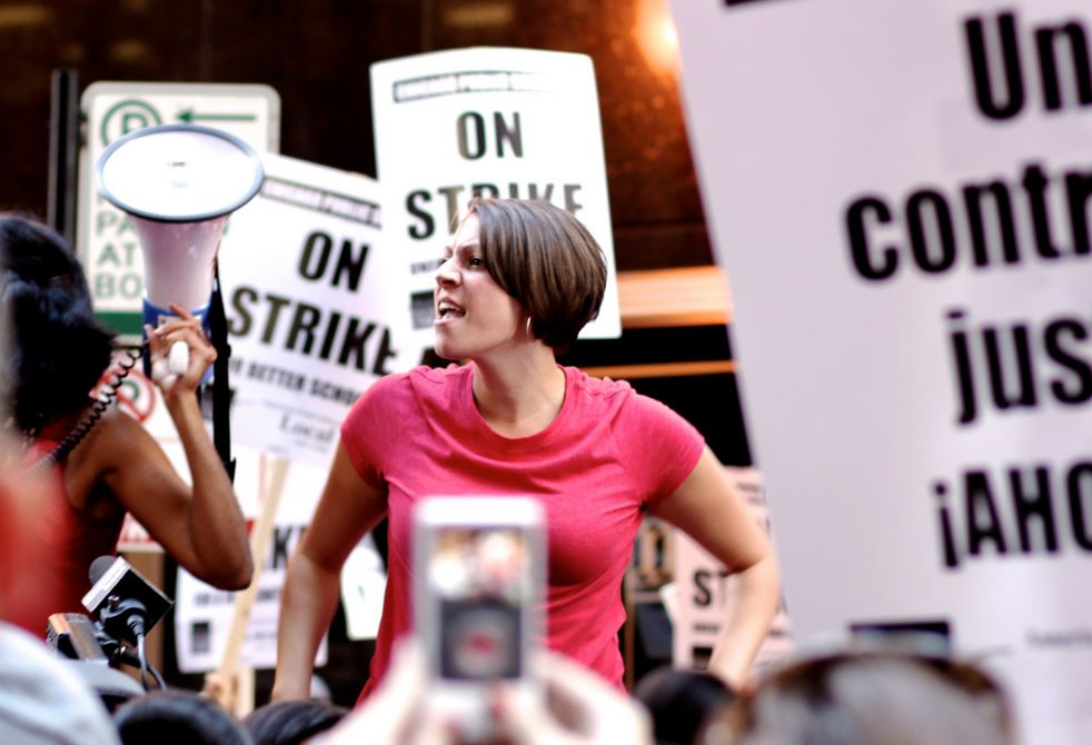 Chicago Teachers Union strike, September 10, 2012. Spencer Tweedy / Flickr
