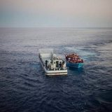 Refugees in the Mediterranean Sea in 2014. UNHCR / Flickr