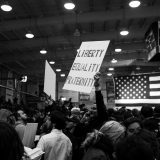 A Bernie Sanders rally in April 2016. Paul Damiano / Flickr