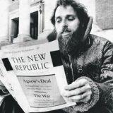 Marty Peretz reading the New Republic in 1974. Arthur Grace