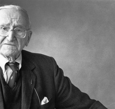 Friedrich Hayek in Iceland in 1980. Research Centre for Innovation and Economic Growth