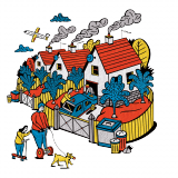 Illustration by Phil Wrigglesworth / Jacobin.