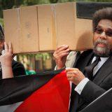 Cornel West at a Palestine solidarity rally in Washington, DC in 2014. mar is sea Y / Flickr