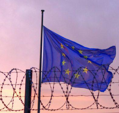 A European Union flag. Oona Räisänen / Flickr
