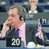 Nigel Farage, leader of the UK Independence Party, at the European Parliament in December 2011. European Parliament / Flickr