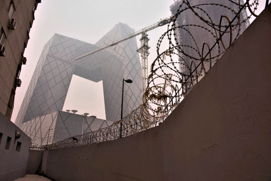 Rem Koolhaas's CCTV building in Beijing, China. Jim Gourley / Flickr