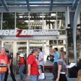 CWA members picketing a Verizon Wireless store in 2011. AFGE / Flickr