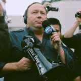 Alex Jones in Dallas, TX. Sean P. Anderson / Flickr