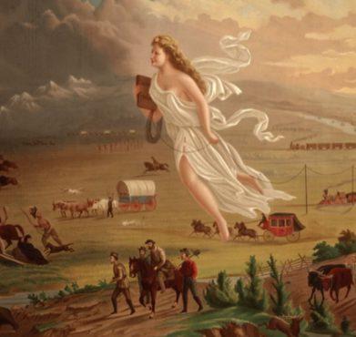 American Progress, John Gast, 1872. Library of Congress