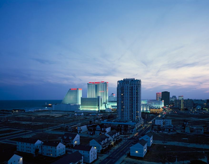 The Trump Taj Mahal in Atlantic City, NJ. Carol M. Highsmith / Library of Congress