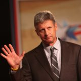 Former New Mexico governor Gary Johnson speaking in Orlando in 2011. Gage Skidmore / Flickr