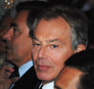 Tony Blair in 2009. Andrew Newton / Flickr