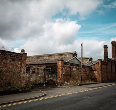 An abandoned factory in Wolverhampton, England. Alex Holyoake / Flickr