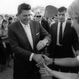 Ronald Reagan campaigning for California governor in 1966. Brett Tatman / Flickr