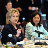 Hillary Clinton in 2011. US Department of State