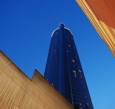 The Westin Peachtree Plaza Hotel in Atlanta. James Good / Flickr