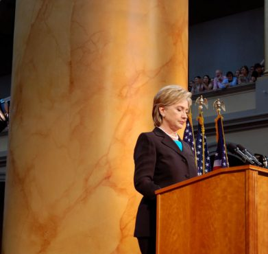 Hillary Clinton in 2008. PBS News Hour / Flickr