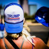 A Trump supporter in March 2016. Johnny Silvercloud / Flickr