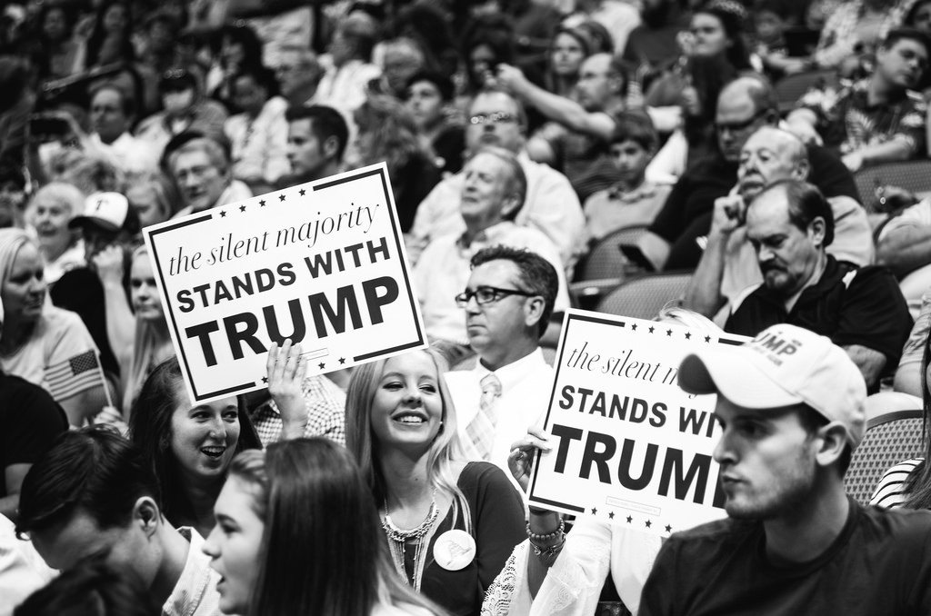 A Trump rally in Dallas Texas on September 14, 2015. Jamelle Bouie / Flickr