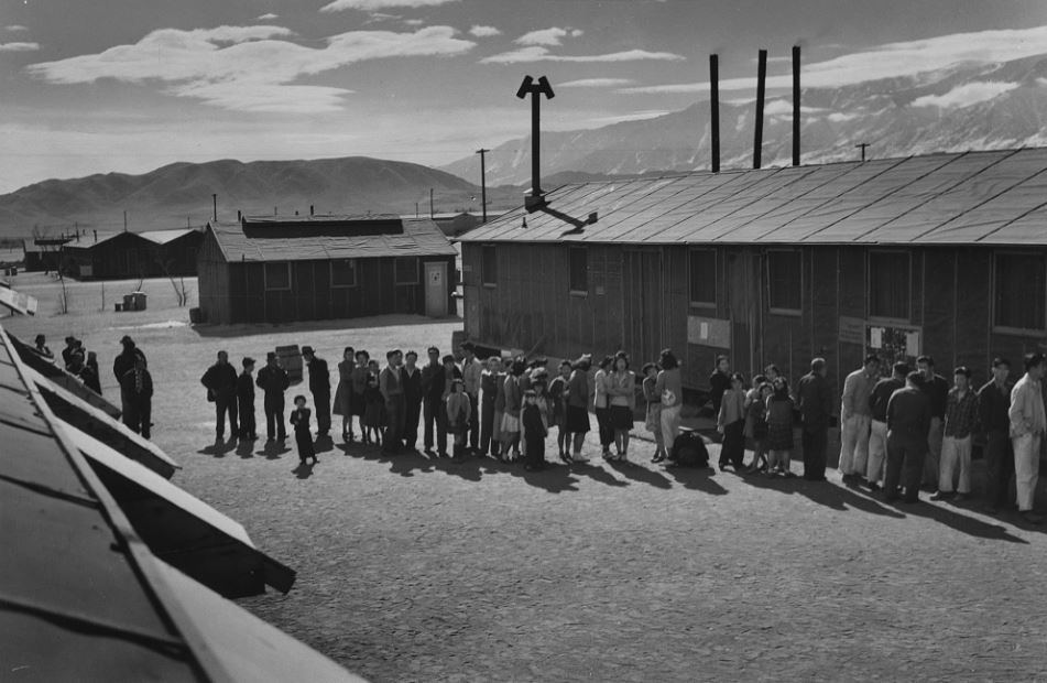 2 camp during internment japanese papers research war world This module is an overview of the japanese internment process during wwii of japanese-americans during world war ii like in the relocation camps.