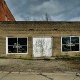 A shuttered garage in Milton, IA. Pete Zarria / Flickr
