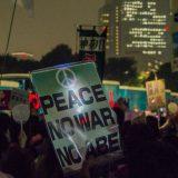 An antiwar demonstration in Tokyo, Japan on September 18, 2015. LittleGray_T / Flickr