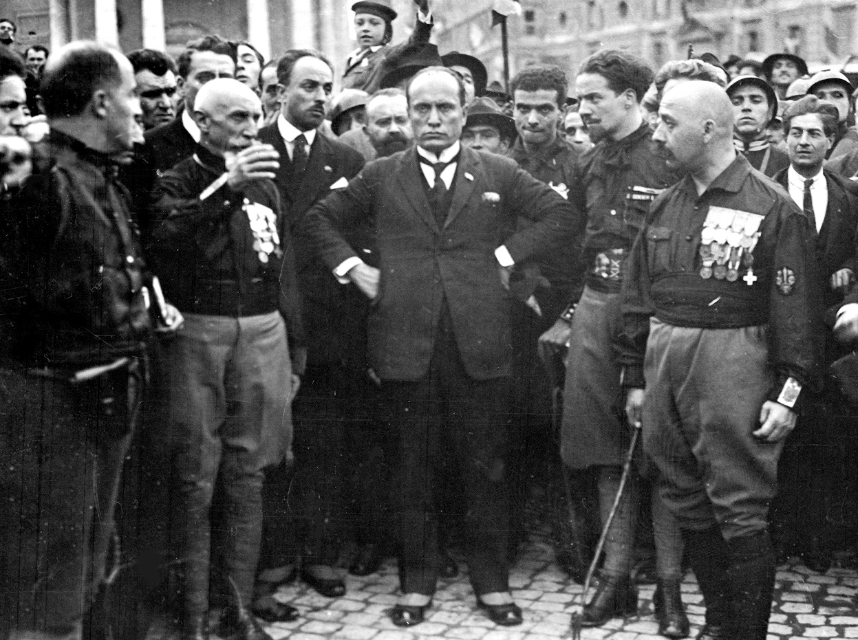 fascism in italy Mussolini was so excited about the war that when italy declared war he joined italy's prestigious bersaglieri regiment as a private he liked the trotting and getting into shape - stomach in and chest out.