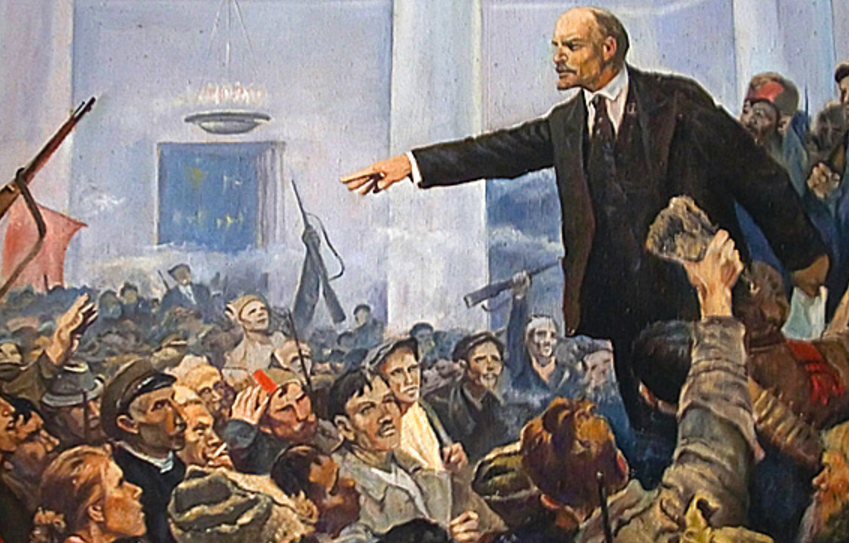 the series of revolutionary events in russia