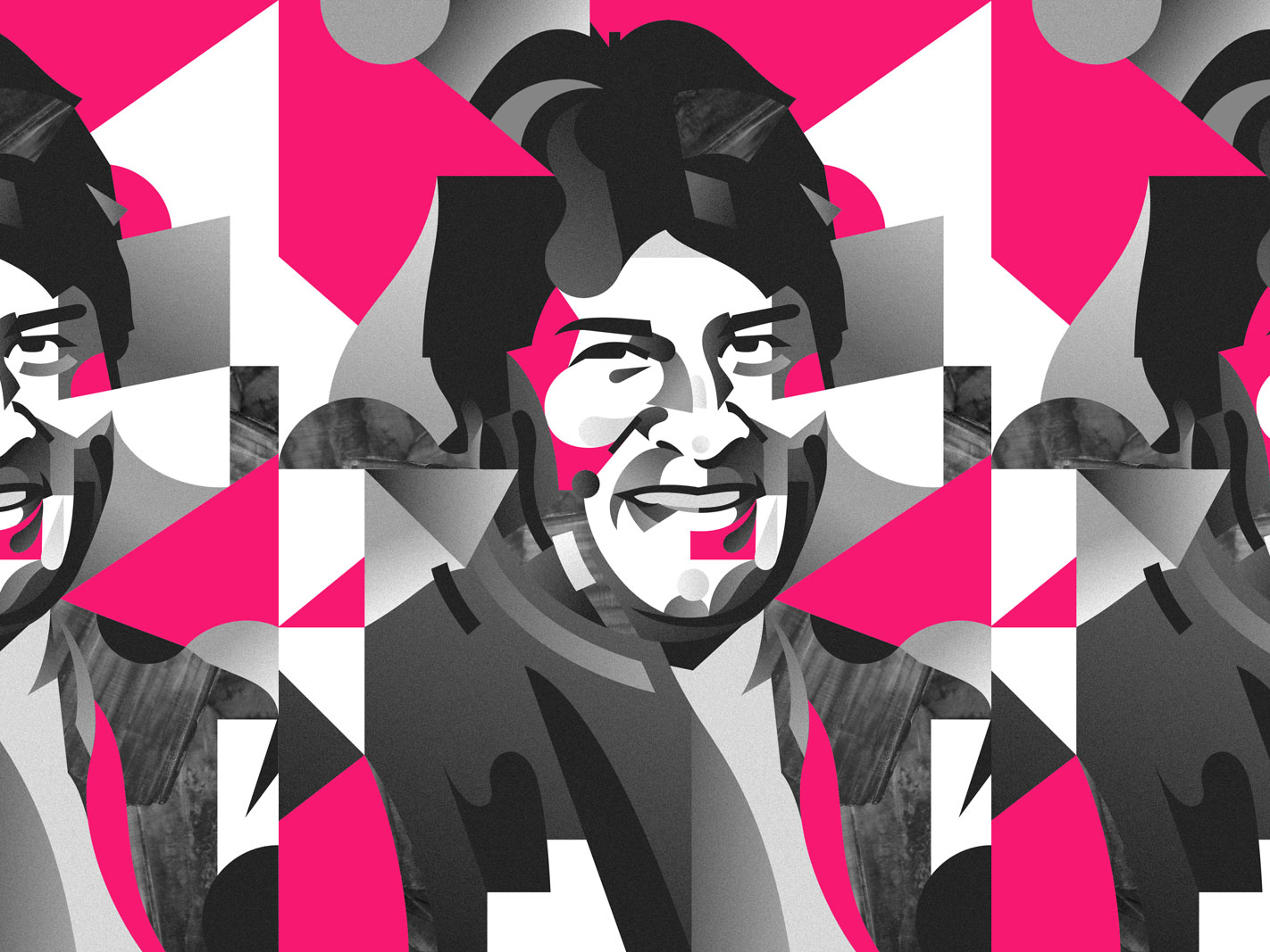 Portrait of Evo Morales
