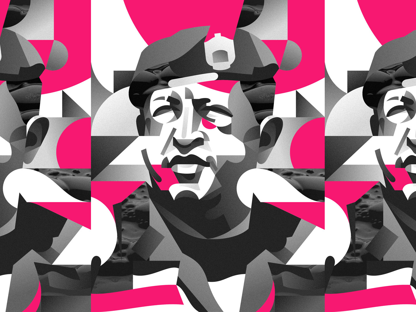 Portrait of Hugo Chávez